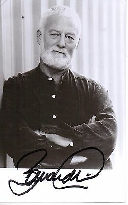 Bernard Hill Autographed  Picture  Vg++  Condition 5.5 X 3.5. (Hand Signed)