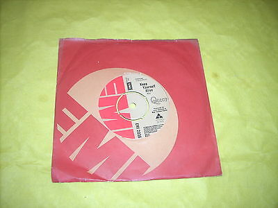 "QUEEN 7""  45 rpm VINYL SINGLE - KEEP YOURSELF ALIVE / SON & DAUGHTER"