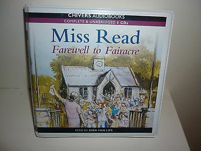 Farewell to Fairacre  - by Miss Read  - Unabridged Audiobook - 6CD