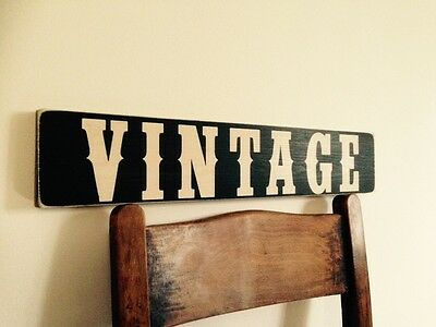Vintage Sign Old Antique Look Shop Pub Home Kitchen Plaque Window