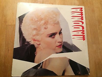 Madonna Who's That Girl Your Live In Turin Italy Vinyl Album Made In Japan Rare