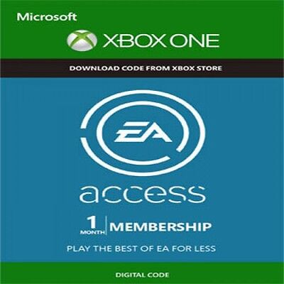 Ea Access 1 Month Membership Xbox One Key Code Fast Dispatch - Works Worldwide