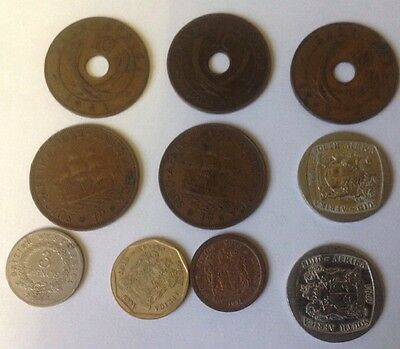 Suid Africa West.East.South Africa Coins