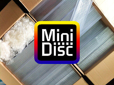 50x MiniDisc cases - MD DATA - Mini Disk box (in compact disc style) W