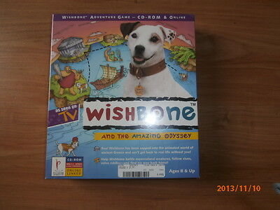 1996 CD-ROM Wishbone and The Amazing Odyssey Big Feats Entertainement