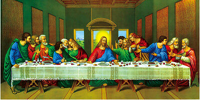HD OIL MODERN ABSTRACT HUGE WALL ART PAINTING ON (NO frame)Last Supper