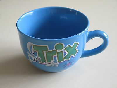 Trix cereal collectible coffee mug featuring the TRIX rabbit