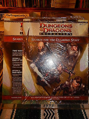 Dungeons & Dragons Encounters limited Search for the Diamond Staff