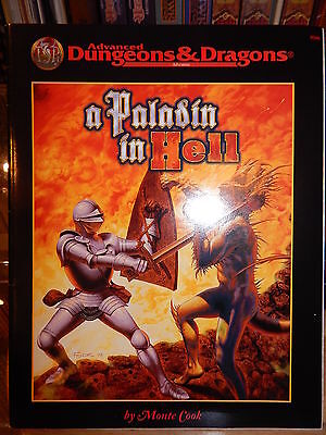 TSR 9586 A Paladin in Hell adventure for Dungeons & Dragons by Monte Cook