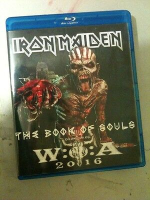 Iron Maiden Concert Blu Ray Wacken Germany The Book Of Souls Tour 2016