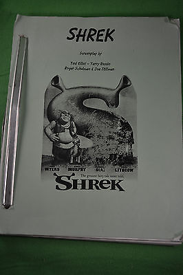 Shrek, Screenplay 21st Draft 3/15/2001 Ted Elliot, Terry Rossio, Roger Schulman