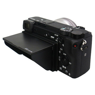 JJC Foldable LCD Screen Pop-up Hood Shade Protector Cover for Sony A6000 A6300