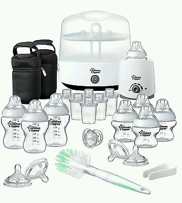 Tommee tippee closer to nature complete feeding set frustration free packaging