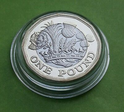 Royal Mint The New 12 Sided 2017 Definitive £1 One Pound PROOF Coin