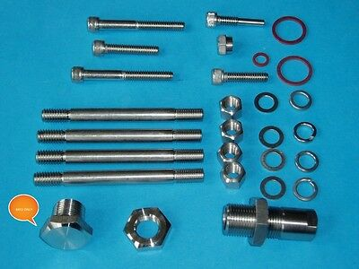 Bsa B31/33 A7 A10 Stainless Steel Gearbox Stud & Nut Kit