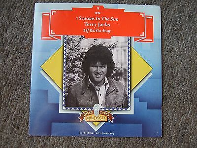 "Terry Jacks - Seasons In The Sun/if You Go Away 7"" Vinyl 45 In Pic Sleeve"