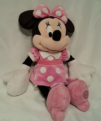 """Large Disney Minnie Mouse Soft Toy 18"""""""