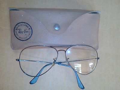 Lunettes Ray Ban de vue - Etui Bausch  and Lomb - Vintage -