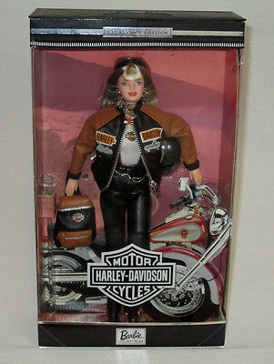 1999 Mattel Harley Davidson Motorcycles Collector Edition Barbie Doll # 4 MIMP