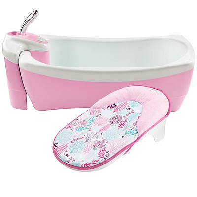 Summer Infant Lil Luxuries Whirlpool, Bubbling Spa and Shower - Pink