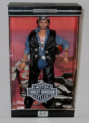 1999 Mattel Harley Davidson Motorcycles Barbie Collector Edition Ken Doll #2