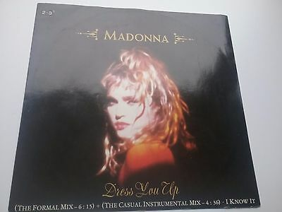 Madonna - Dress You Up 12""