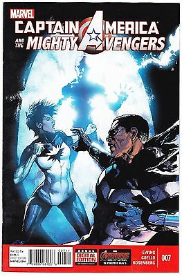 Captain America And The Mighty Avengers #7 - Regular Cover - Marvel 2015