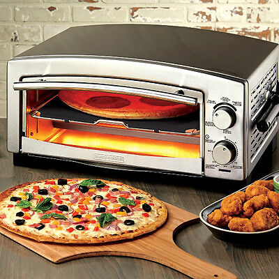 Pizza Maker Oven Accessories Countertop Commercial Bake Snack Kitchen Electric