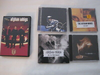 Afghan Whigs  CD DVD bundle Excellent Condition CHEAP!