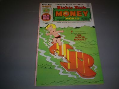 "Richie Rich Money World #25 (Sep 1976 Harvey) 6.0 Fn ""the Poor Little Rich Boy!"""