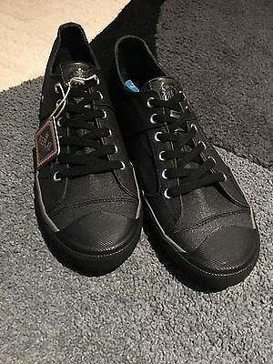 Replay Men's Canvas Trainers UK size 8