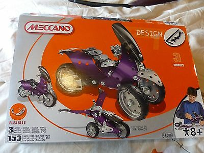 Meccano 4700N Age 8+ Years Set. Complete in Box. 2008.