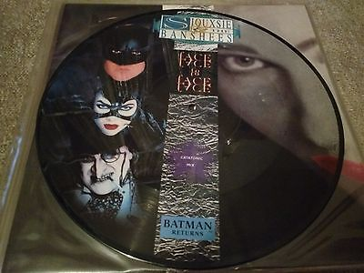 """Siouxsie and the Banshees - Face to Face 12"""" vinyl single (Batman movie film)"""