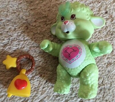 "Vintage 1980s Care Bear Cousin Gentle Heart Lamb Possible Figure 3.5"" Approx"