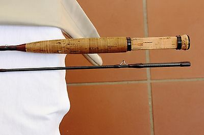 "Orvis Brooktrout 7'6"", 2-1/2 Ounce Fly Fishing Rod. Custom Built"
