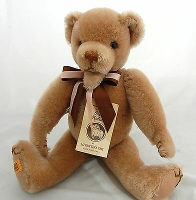 "Merrythought Pure Mohair Teddy Bear Open Mouth 14"" Sgd B T Homes LE 479/500"