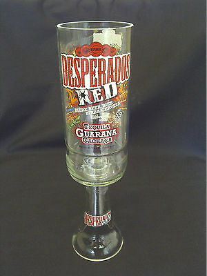 Desperados Red Tequila Beer Glass Goblet - 100% Recycled - Unique Gift - Pub/bar