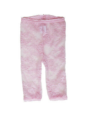 LACY LEGGINGS – Pink by Baby Bella Maya Size 12-18 Months