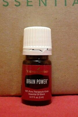 Brain Power 5ml - Young Living Essential Oil new and sealed *** Free Shipping **