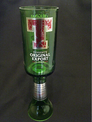 Tennents Original Export Lager / Beer Glass Goblet - 100% Recycled - Pub Bar Bbq