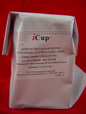 iCup I-DOA-1137-011 Most Complete Urine Instant Drug Testing Screen Kits 3 Pack