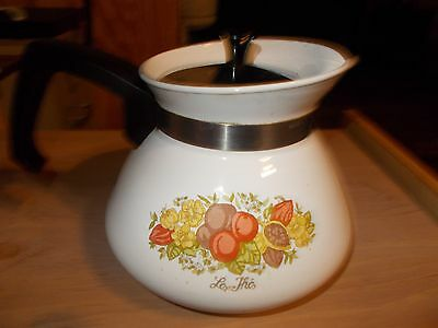 Corning Ware Spice of Life Teapot 6 Cup P-104-8