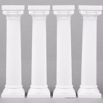 Pack Of 4 Grecian Pillars For Cakes 5 Inch Roman Greek Column Stands Decoration