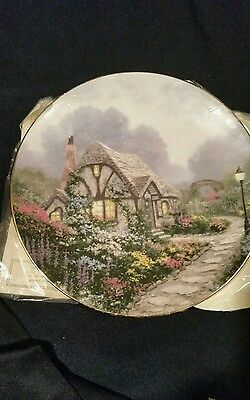 CHANDLER'S COTTAGE by Thomas Kinkade plate