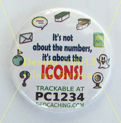 It's All About the Icons Trackable Button
