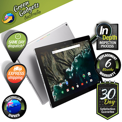 """Google Pixel C Silver/Black 32GB 10.2"""" Tablet Wi-Fi Only Unlocked As New"""
