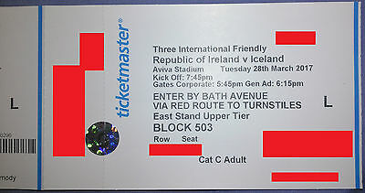 Rep of Ireland vs Iceland Soccer Tickets