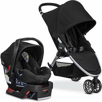 Britax B-Agile/B-Safe 35 Baby Travel System with Infant Car Seat