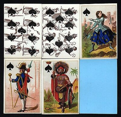 1860 Transformation playing cards cartes a jouer Spielkarten Kartenspiel Grimaud