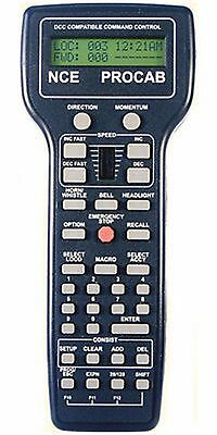 NCE 524-010 NCE10 PRO CAB PROCAB PRO CAB Handheld DCC Cab Throttle FOR NCE- NEW